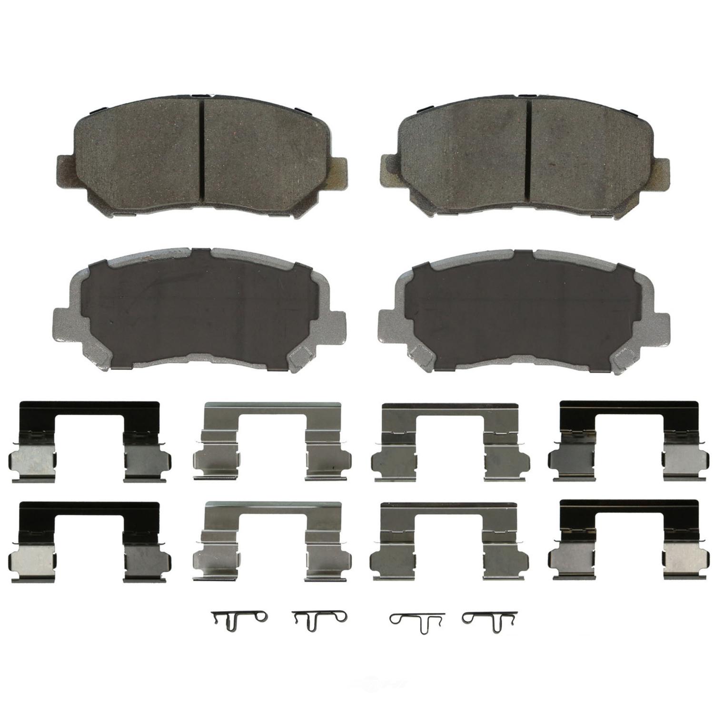 WAGNER BRAKE - ThermoQuiet Disc Brake Pad (Front) - WGC QC1640