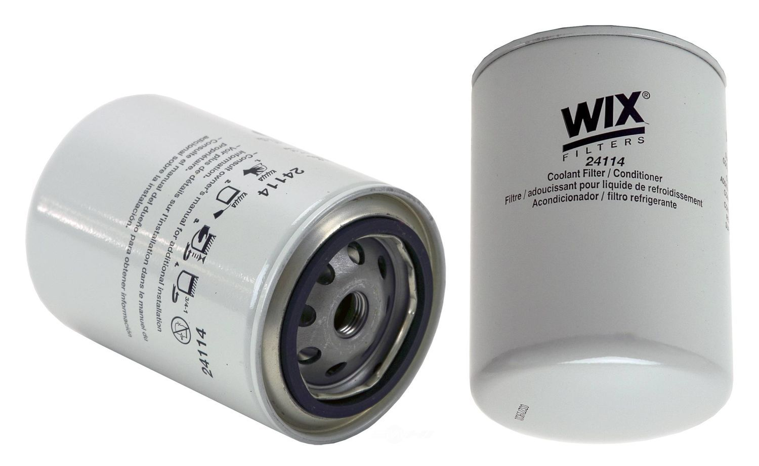 WIX - Engine Coolant Filter - WIX 24114