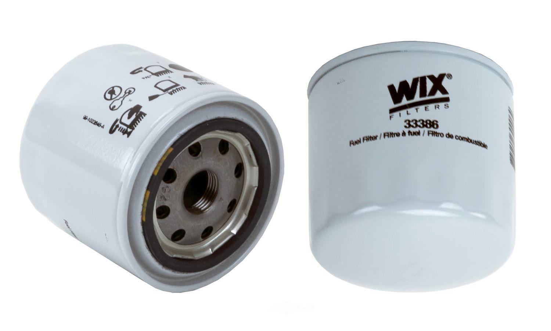 WIX - Fuel Filter - WIX 33386