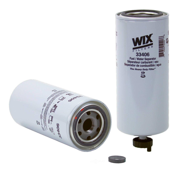 WIX - Fuel Water Separator Filter - WIX 33406
