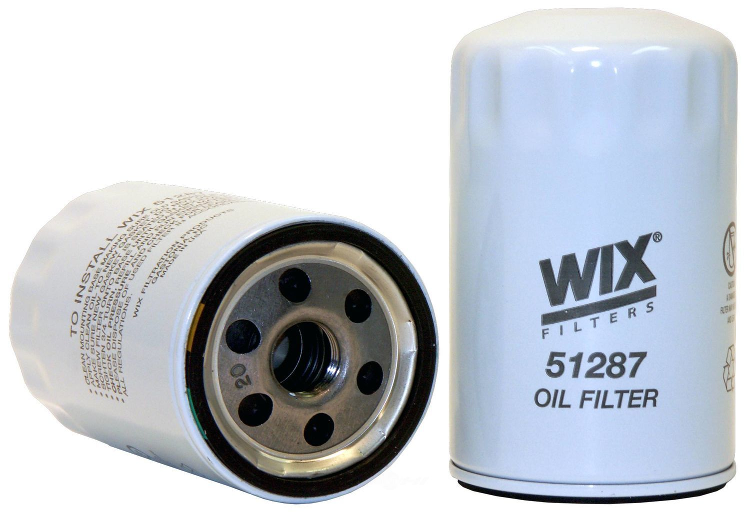 WIX - Engine Oil Filter - WIX 51287