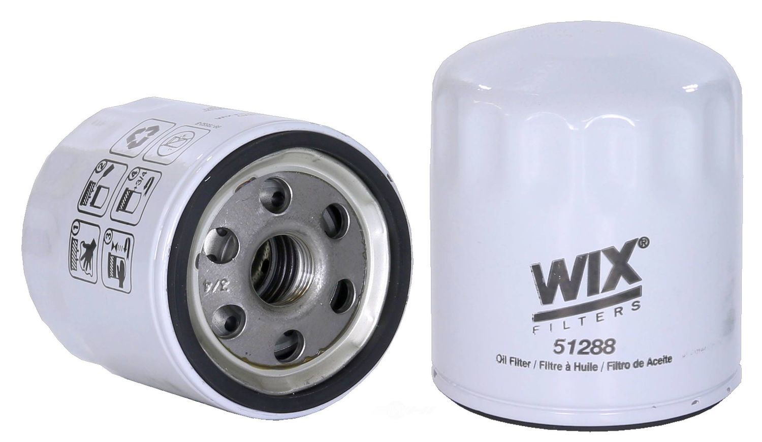 WIX - Turbocharger Oil Filter - WIX 51288