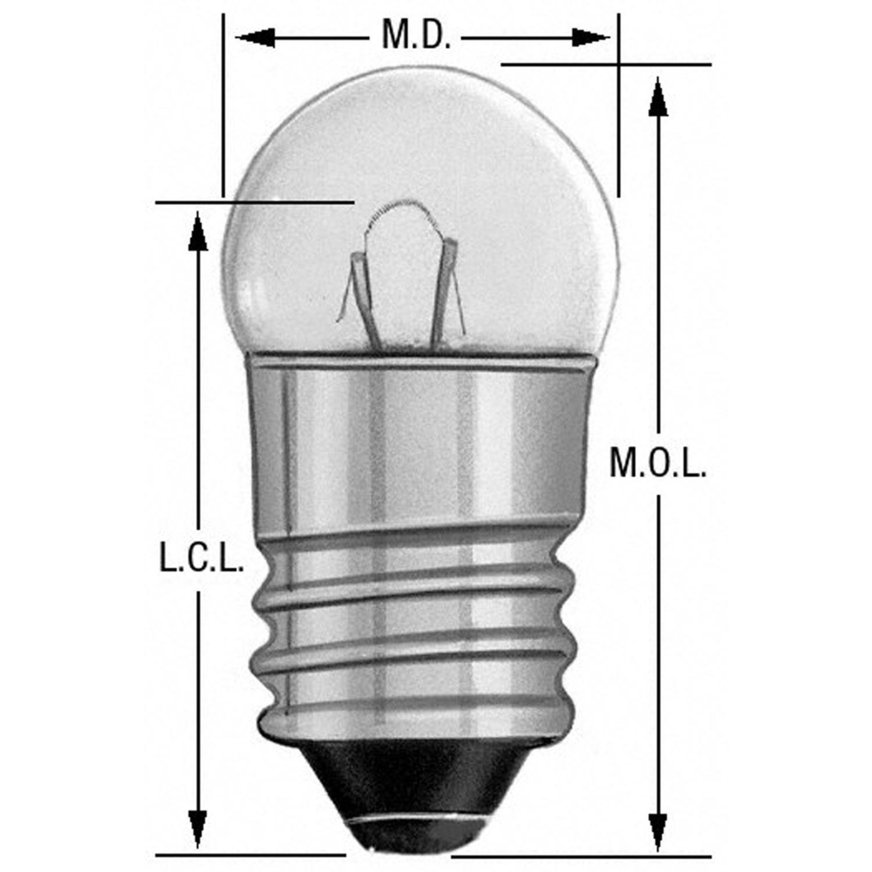 WAGNER LIGHTING - Instrument Panel Light Bulb - WLP 1449