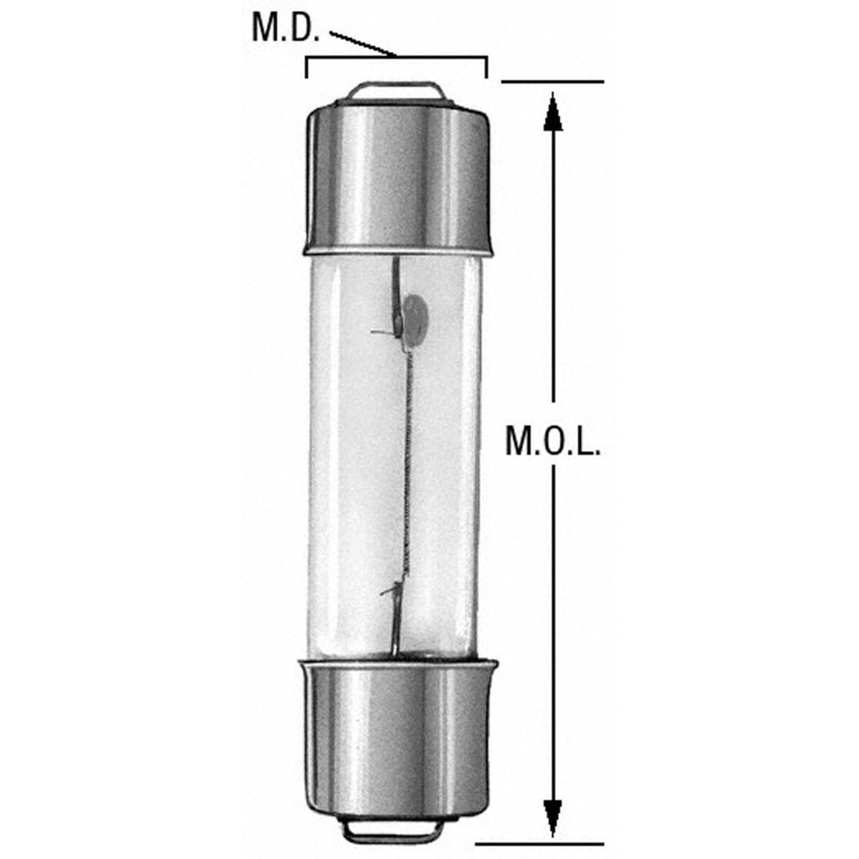 WAGNER LIGHTING - Dome Light Bulb - WLP 212-2