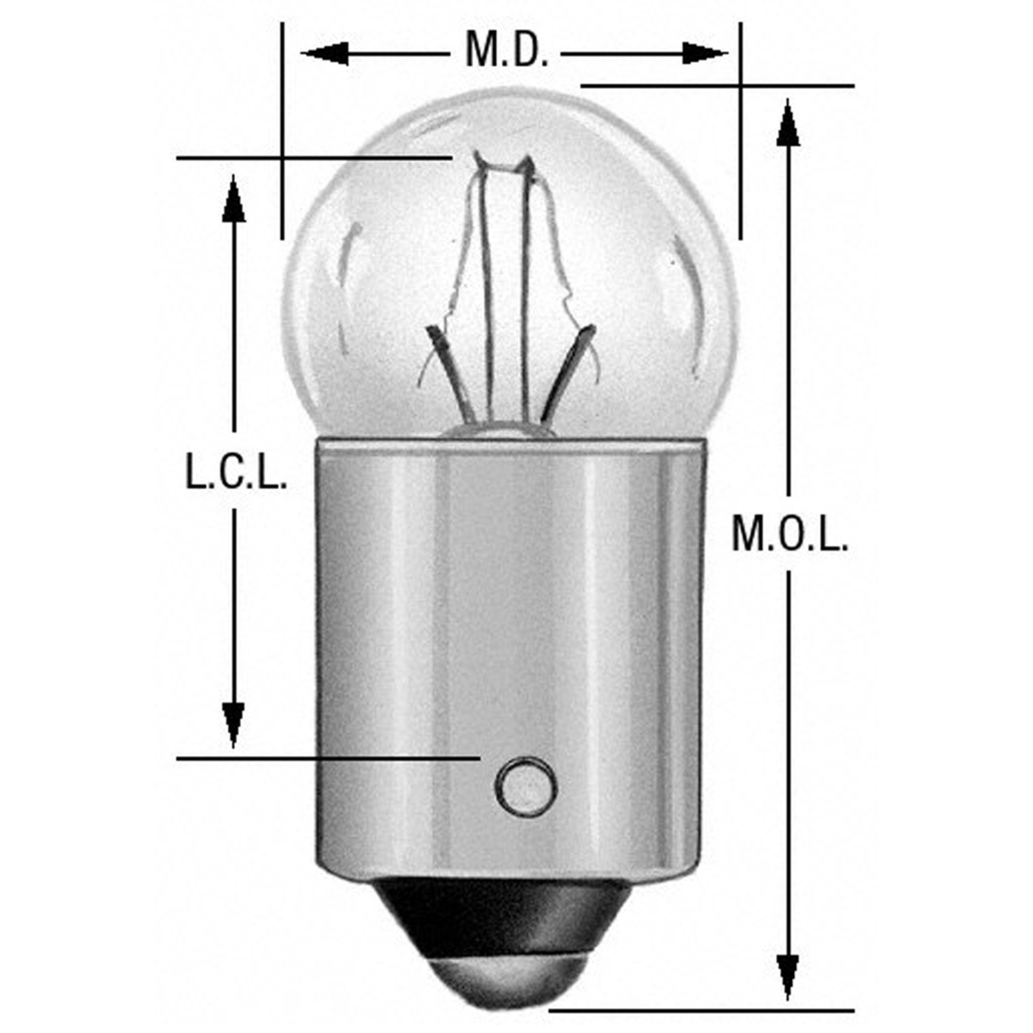 WAGNER LIGHTING - Instrument Panel Light Bulb - WLP 51