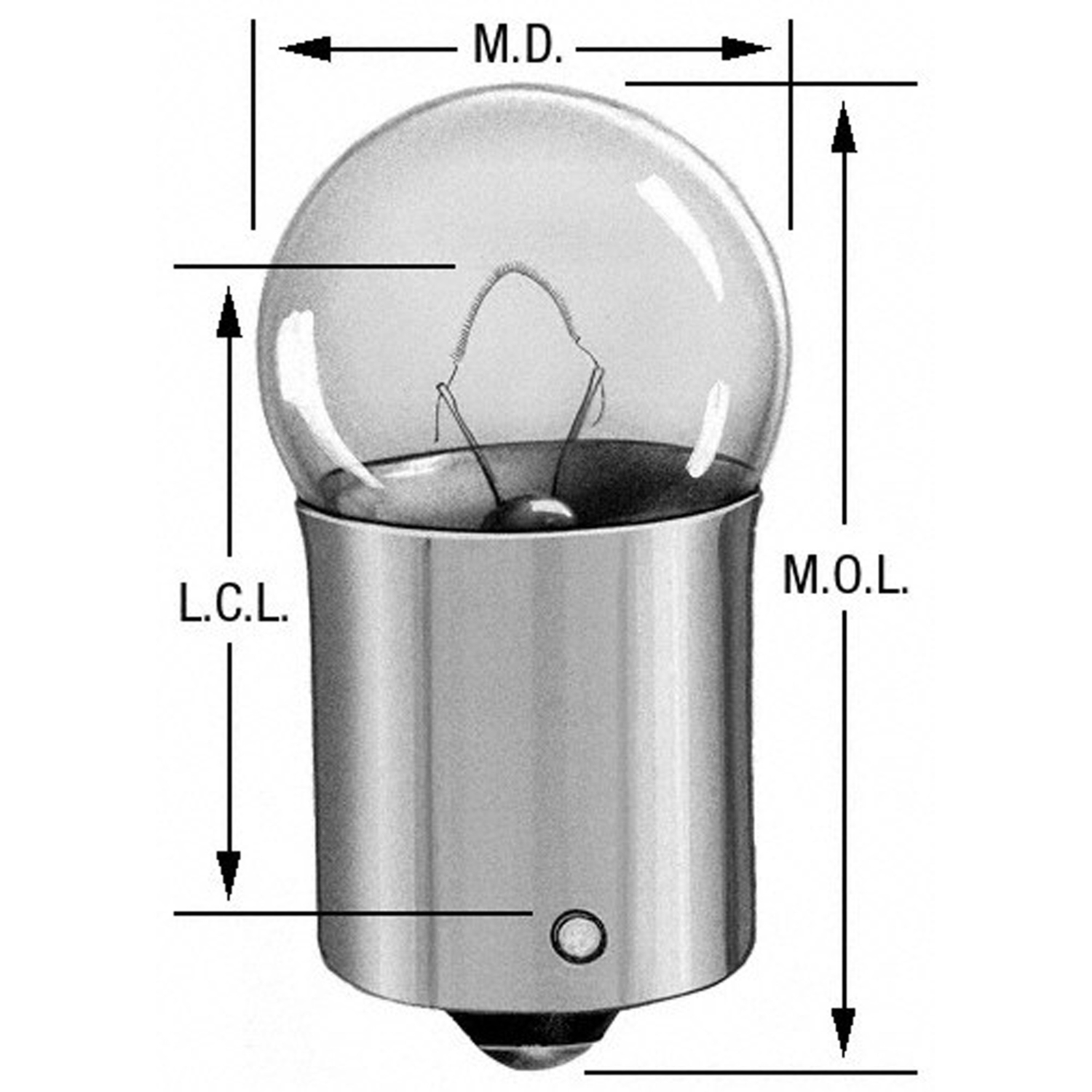 WAGNER LIGHTING - Parking Light Bulb - WLP 63