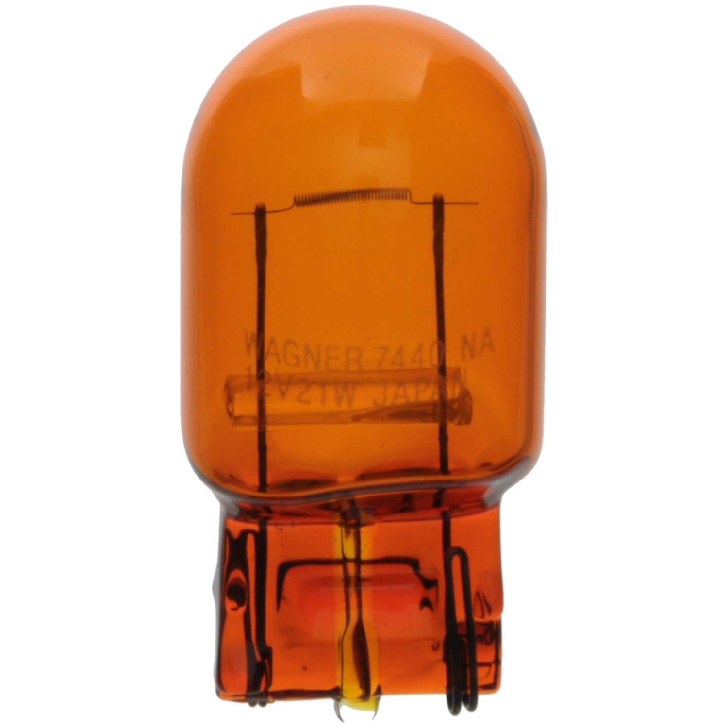 WAGNER LIGHTING - Turn Signal Light Bulb (Rear) - WLP 7440NA