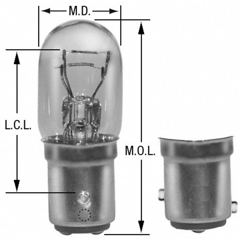 WAGNER LIGHTING - Tail Light Bulb - WLP BP3496