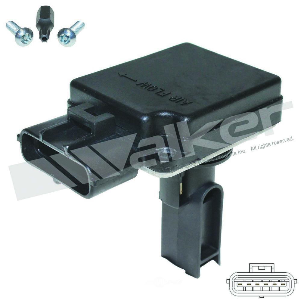 Walker Products Inc Mass Air Flow Sensor Part Number 245 1102 2001 Ford Explorer Sport Trac Pcv Valve Wpi