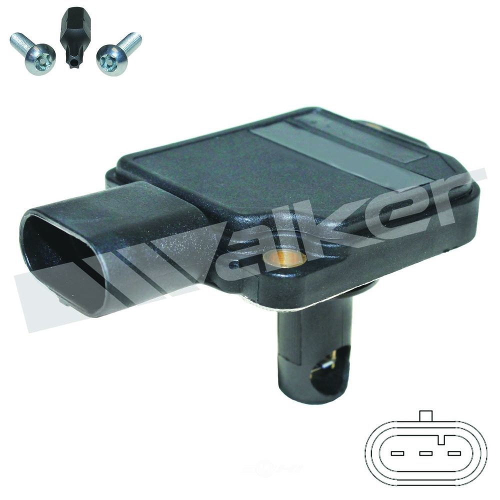 WALKER PRODUCTS, INC. - Walker Mass Air Flow Sensor - WPI 245-1116