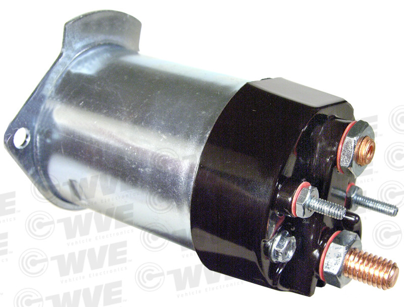 WVE BY NTK - O.E. Replacement Starter Solenoid - WVE 1M1027