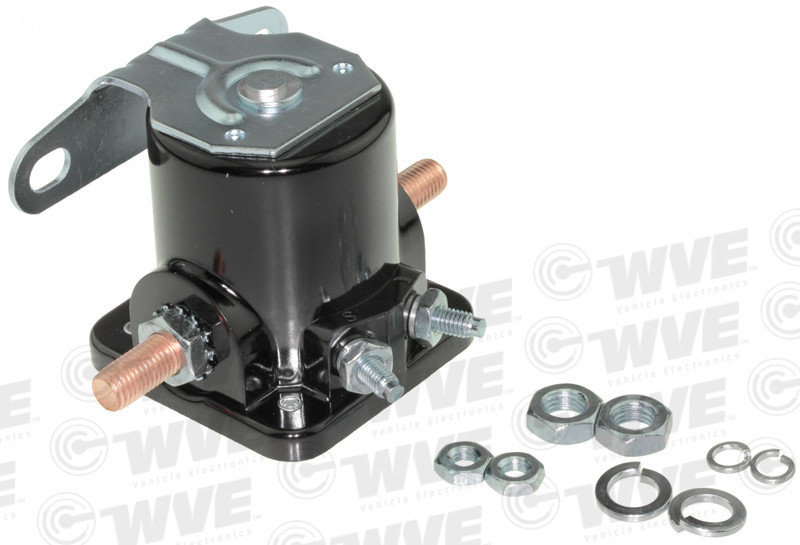 WVE BY NTK - O.E. Replacement Starter Solenoid - WVE 1M1030