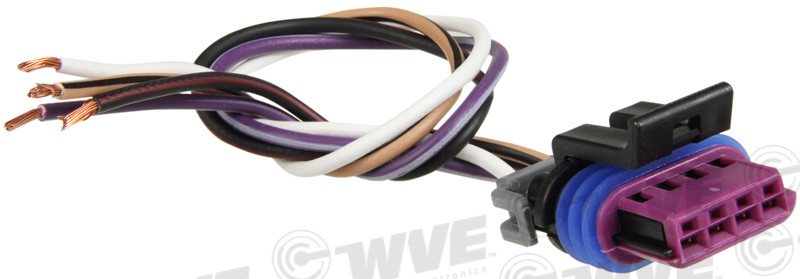 WVE BY NTK - Idle Air Control Valve Connector - WVE 1P1026