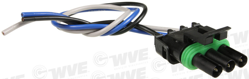 WVE BY NTK - Throttle Position Sensor Connector - WVE 1P1064