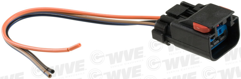 WVE BY NTK - Engine Cooling Fan Motor Connector - WVE 1P1080