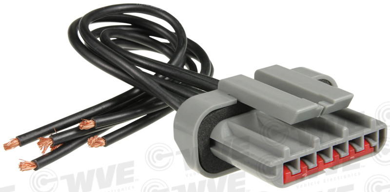 WVE BY NTK - Neutral Safety Switch Connector - WVE 1P1094