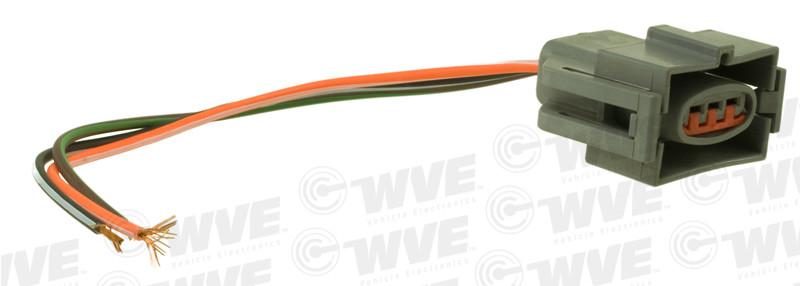 WVE BY NTK - Throttle Position Sensor Connector - WVE 1P1101