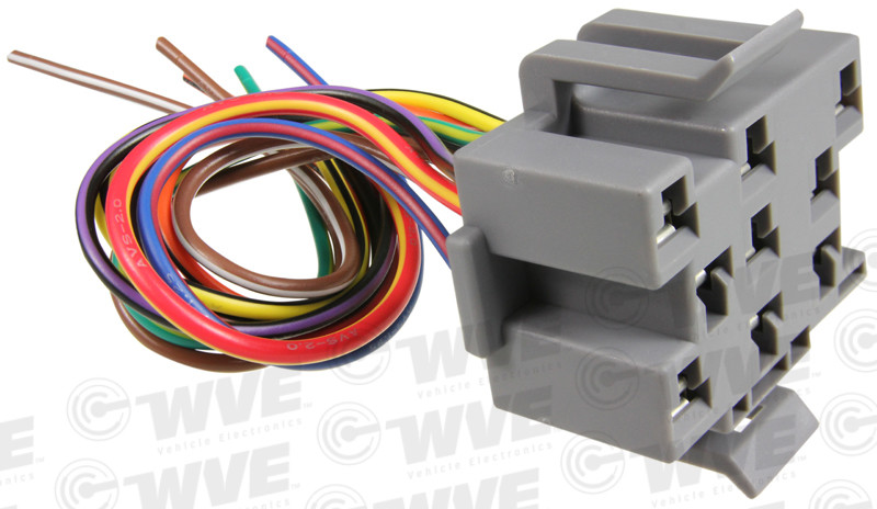 WVE BY NTK - Headlight Switch Connector - WVE 1P1104
