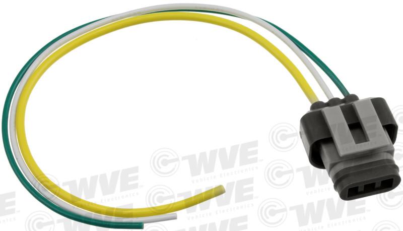 WVE BY NTK - Engine Coolant Level Sensor Connector - WVE 1P1113