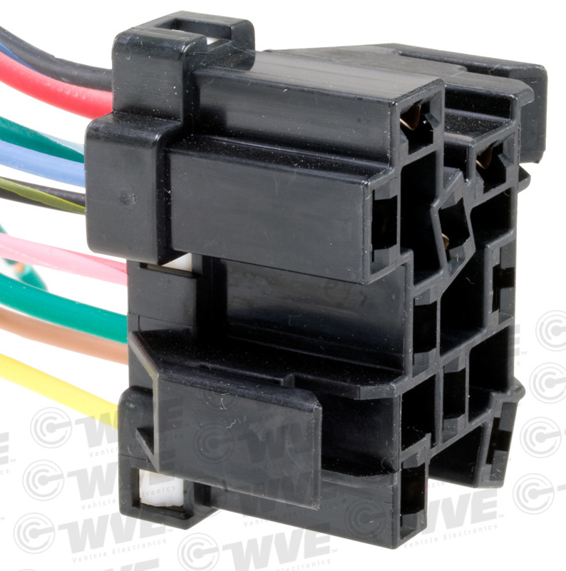 WVE BY NTK - Headlight Switch Connector - WVE 1P1190
