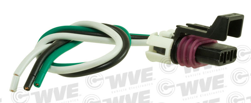WVE BY NTK - Throttle Position Sensor Connector - WVE 1P1220