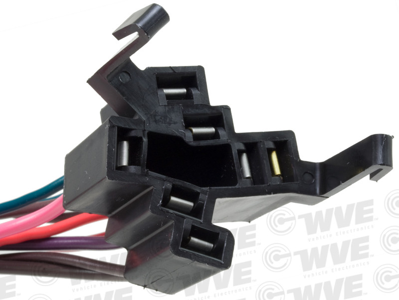 WVE BY NTK - Ignition Switch Connector - WVE 1P1274