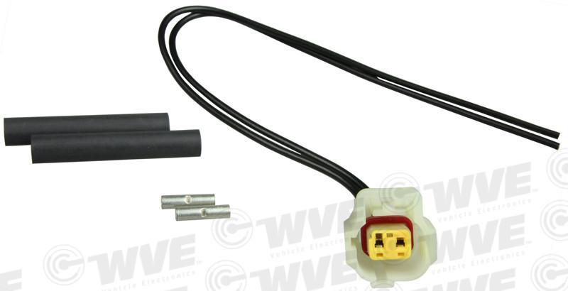 WVE BY NTK - Engine Cylinder Head Temperature Sensor Connector - WVE 1P1561