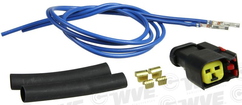 WVE BY NTK - ABS Wheel Speed Sensor Connector - WVE 1P1580