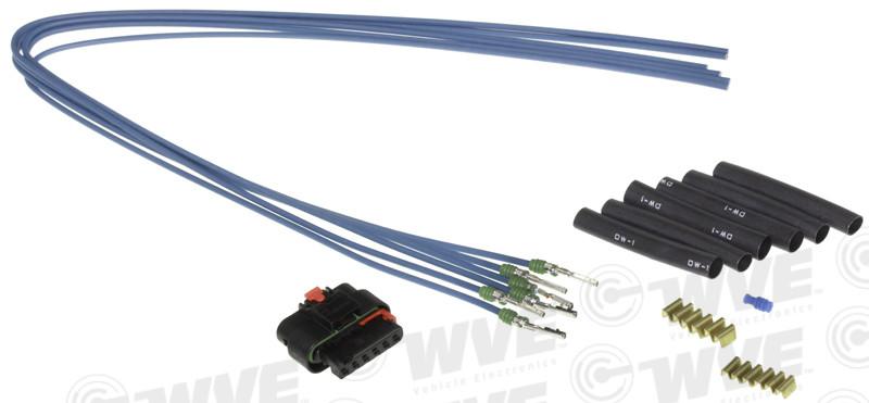 WVE BY NTK - Throttle Position Sensor Connector - WVE 1P2219