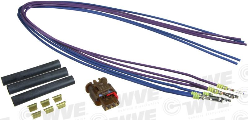 WVE - Evaporative Emissions System Leak Detection Pump Connector - WVE 1P2523