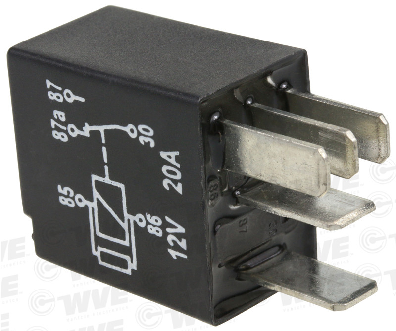 WVE BY NTK - Power Steering Relay - WVE 1R1467