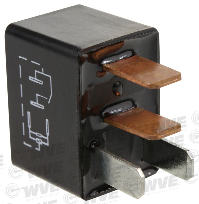 WVE BY NTK - Engine Cooling Fan Motor Relay - WVE 1R1696