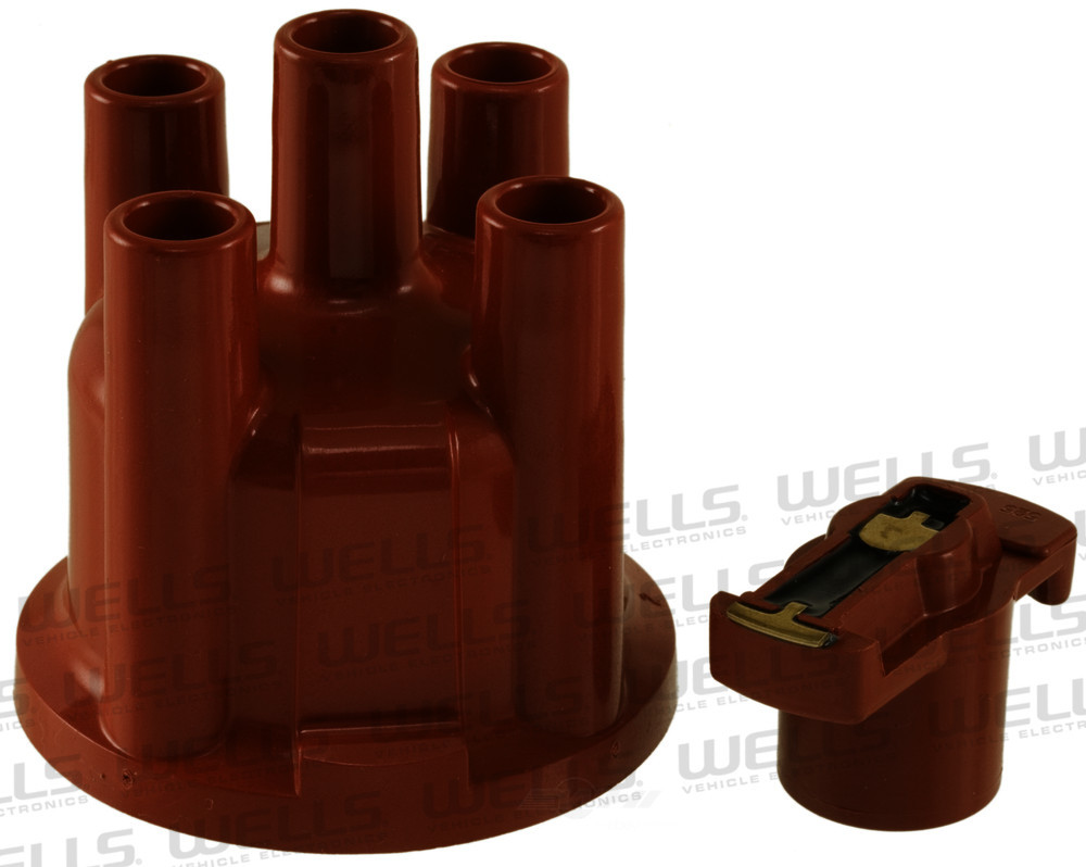 WVE BY NTK - Distributor Cap and Rotor Kit - WVE 3D1012
