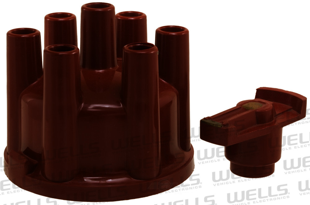 WVE BY NTK - Distributor Cap and Rotor Kit - WVE 3D1034