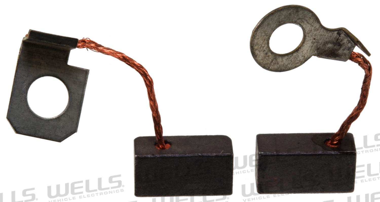 WVE BY NTK - Alternator Brush Set - WVE 5A1014