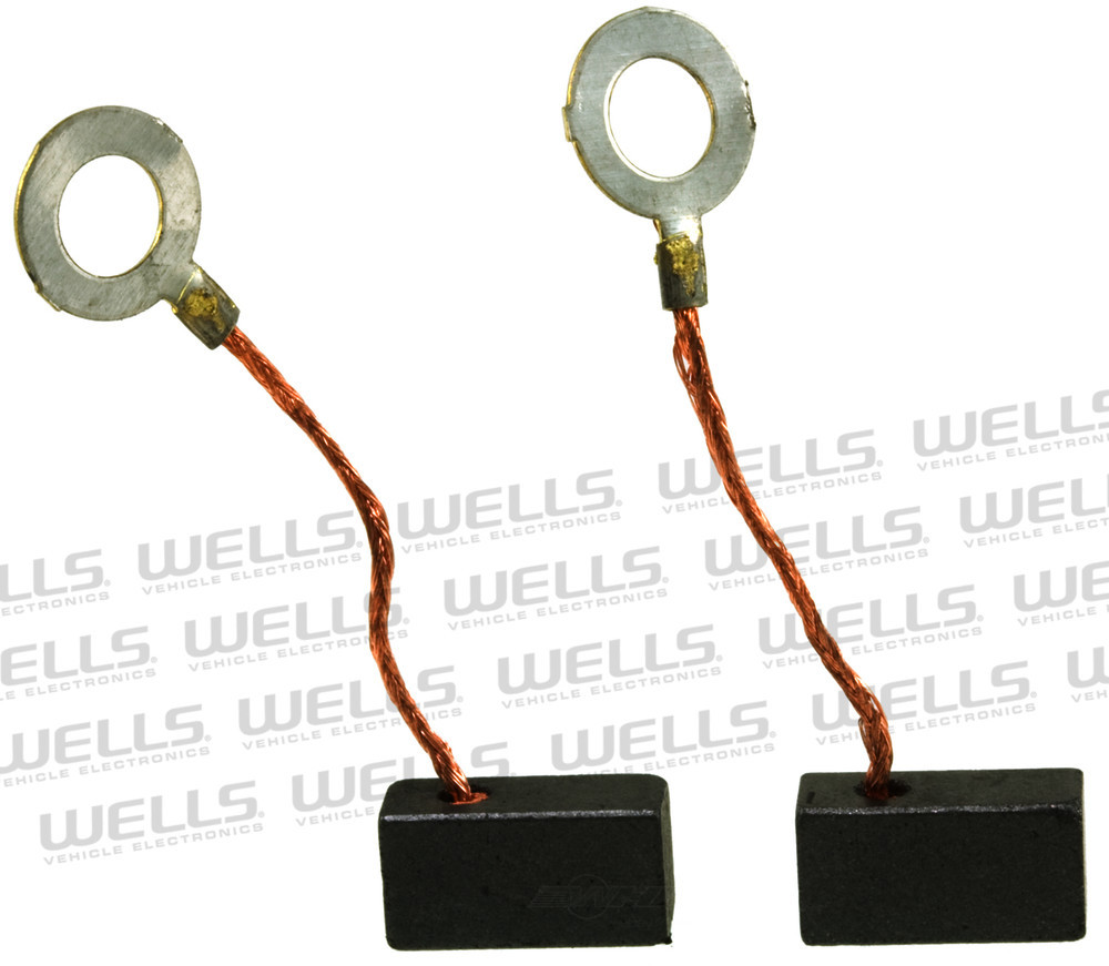 WVE BY NTK - Alternator Brush Set - WVE 5A1096