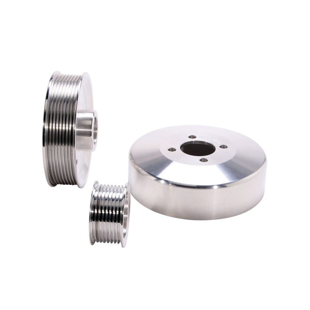 BBK PERFORMANCE PARTS - Power-Plus Series Underdrive Pulley System - XCV 15550