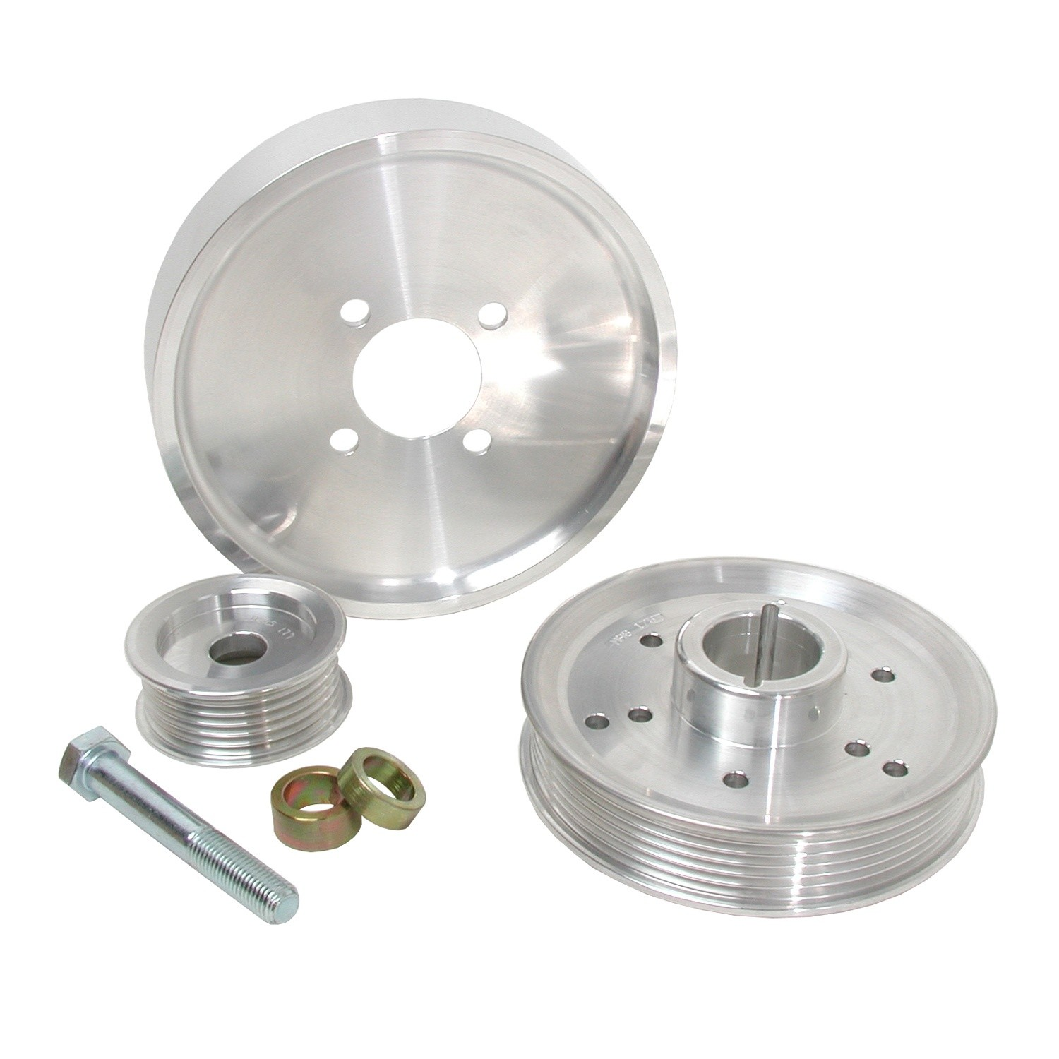 BBK PERFORMANCE PARTS - Power-Plus Series Underdrive Pulley System - XCV 1559