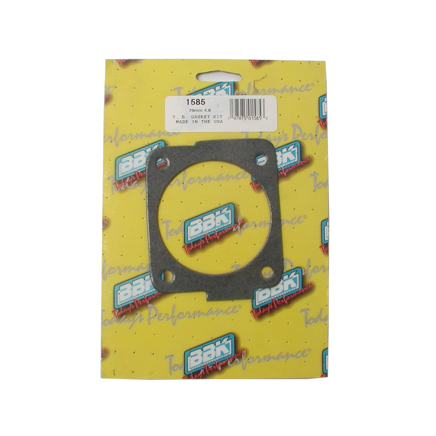 BBK PERFORMANCE PARTS - Fuel Injection Throttle Body Mounting Gasket - XCV 1585
