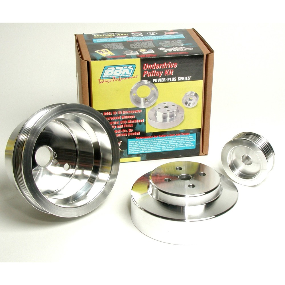 BBK PERFORMANCE PARTS - Power-Plus Series Underdrive Pulley System - XCV 1620