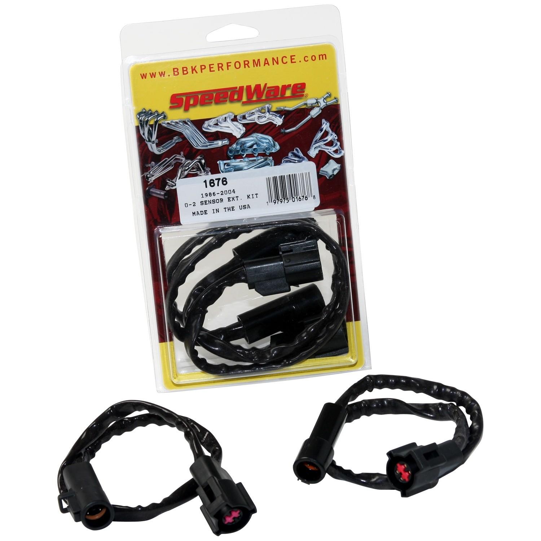 BBK PERFORMANCE PARTS - O2 Sensor Wire Extension Harness - XCV 1676