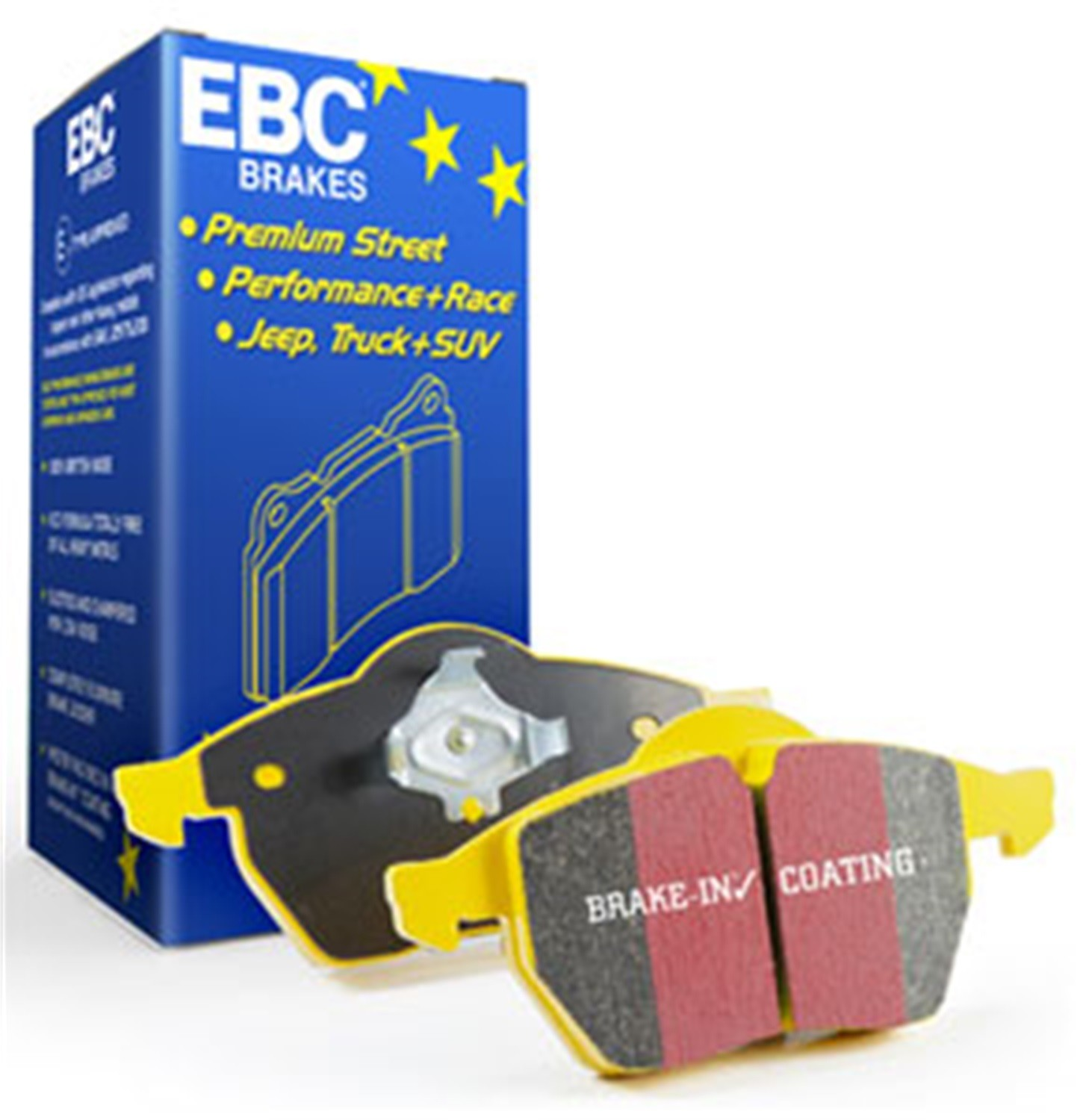 EBC BRAKES - Yellowstuff Street And Track Disc Brake Pad (Rear) - XHG DP4686/2R