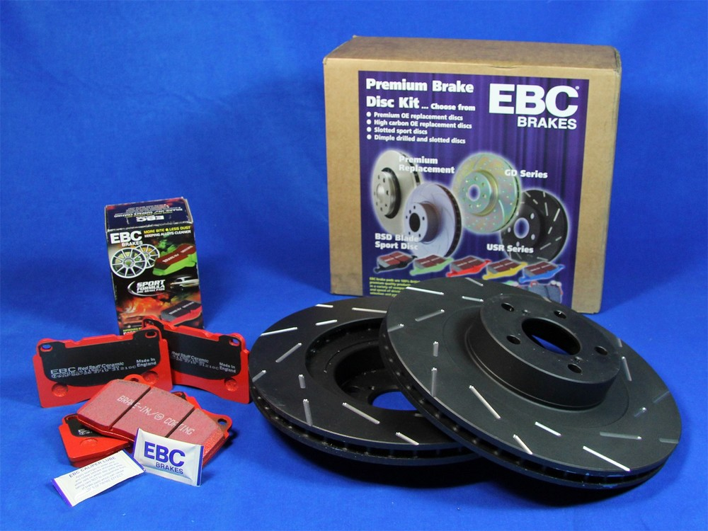 EBC BRAKES - S4 Kits Redstuff and USR rotor (Rear) - XHG S4KR1268