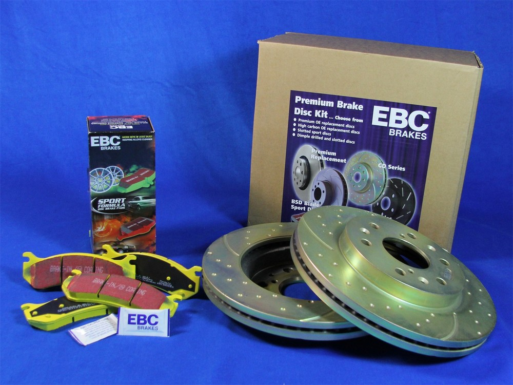 EBC BRAKES - S5 Kits yellowstuff And GD Rotors (Rear) - XHG S5KR1412