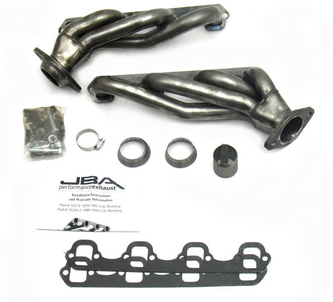 JBA RACING HEADERS - Cat4Ward Shorty Header - XL8 1621S