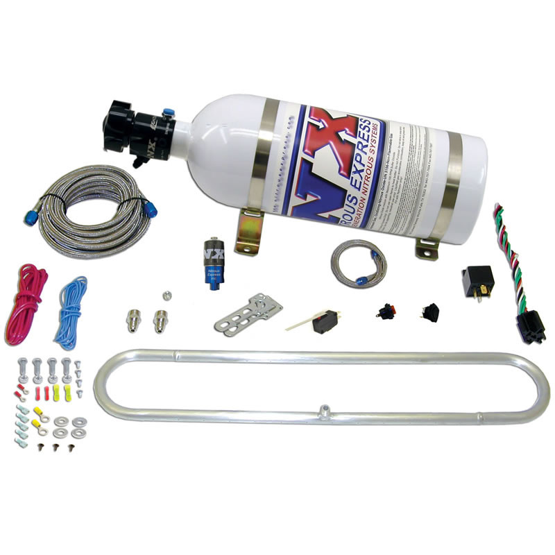NITROUS EXPRESS - Intercooler Carbon Dioxide Sprayer Kit - XP6 20000R-10