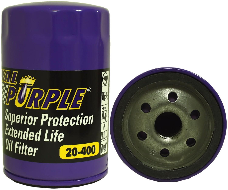 ROYAL PURPLE - Engine Oil Filter - XSJ 20-400
