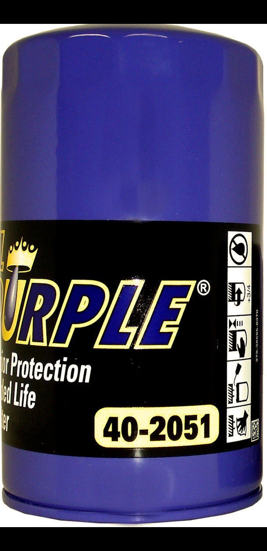 ROYAL PURPLE - Engine Oil Filter - XSJ 40-2051